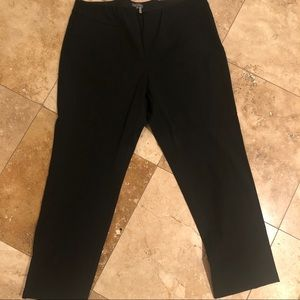 Vince Camuto Pants - Vince Camuto Black Side ZIP Pants 20W